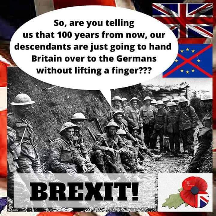 These men died for our country to be free. Not to be governed by a foreign power!!  #VoteLeave https://t.co/bKpUNmCxPw