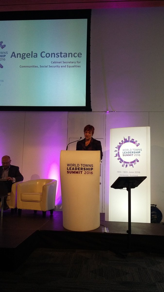 @AConstanceSNP laying out importance of communities and towns for fairer society and reducing inequalities #WTLS16 https://t.co/t9V5LBDDSx