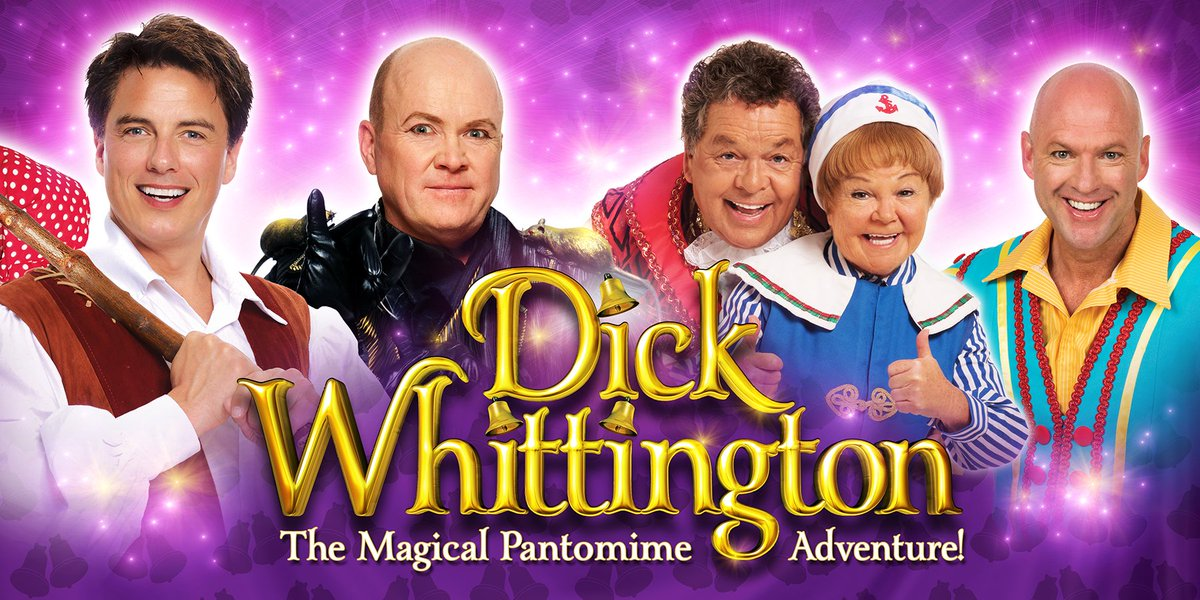 So excited! A spectacular line up for panto - John Barrowman, Steve McFadden, & The Krankies https://t.co/pzdDh6etxR https://t.co/G93klxGCwZ
