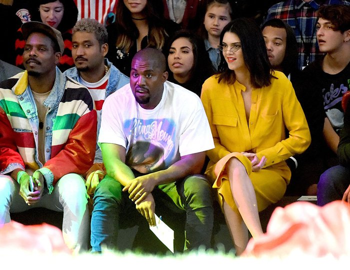 20de306fcd4c kanye west solange amp kendall jenner attend tyler the creator s golf wang fashion  show