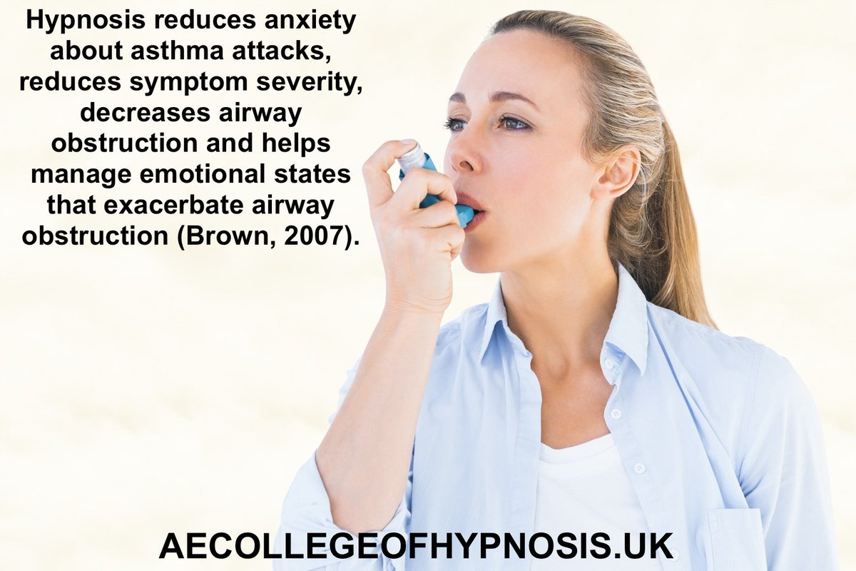"""Evidence based hypnotherapy meme of the week. From """"Evidence-Based Hypnotherapy for Asthma: A Critical Review"""" Do RT https://t.co/Yn3o6s0NBs"""