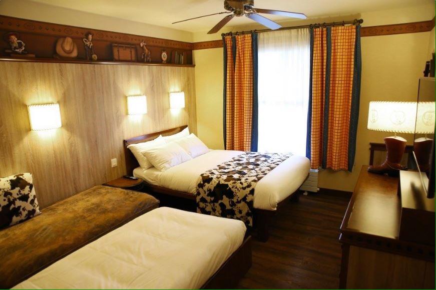 Dlrp Express On Twitter 200 Chambres Du Disney S Hotel Cheyenne