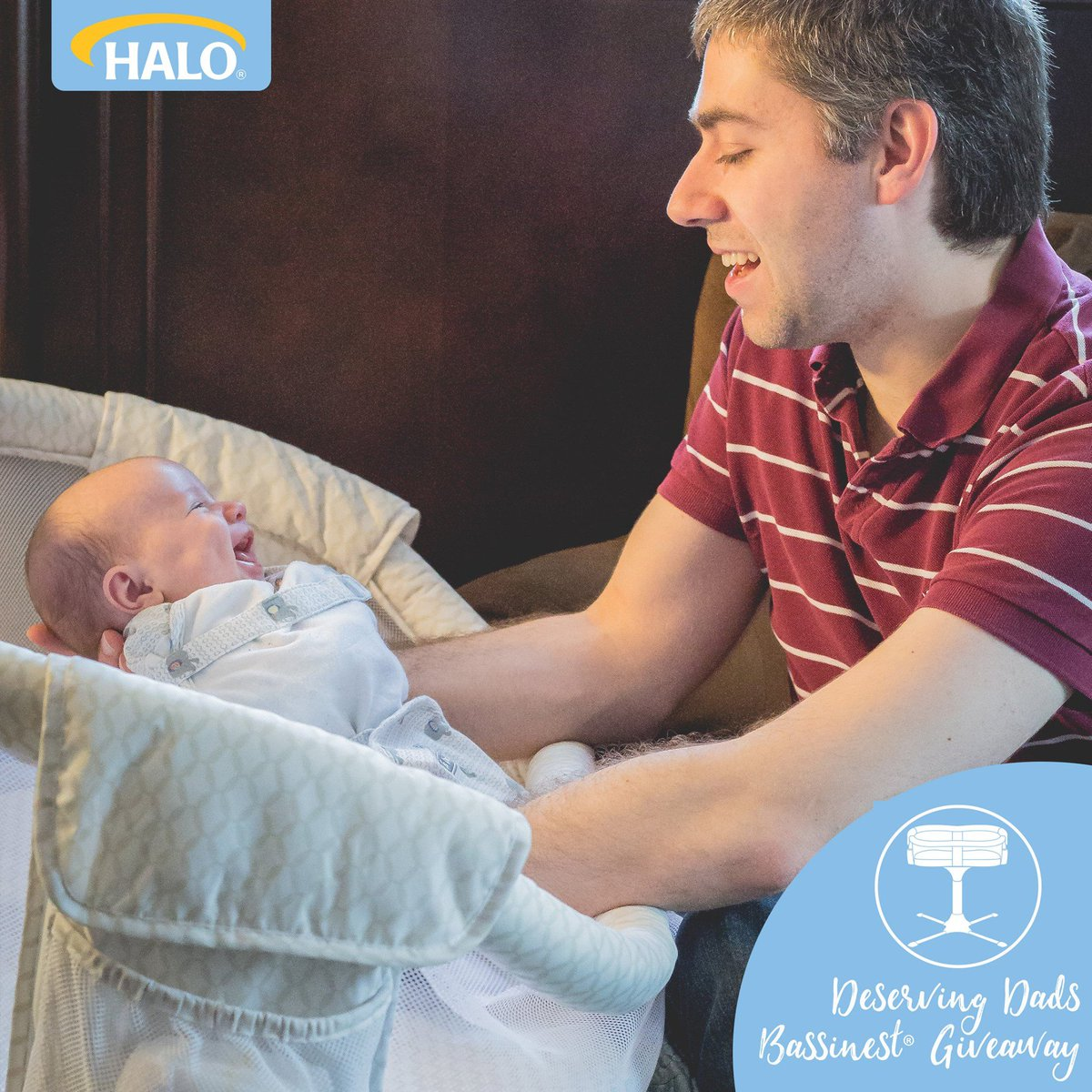 Honoring all of those devoted and loving fathers out there! Plus #HALOBassinest giveaway https://t.co/Jzd29vLdlF https://t.co/ZJGzMAX3PX
