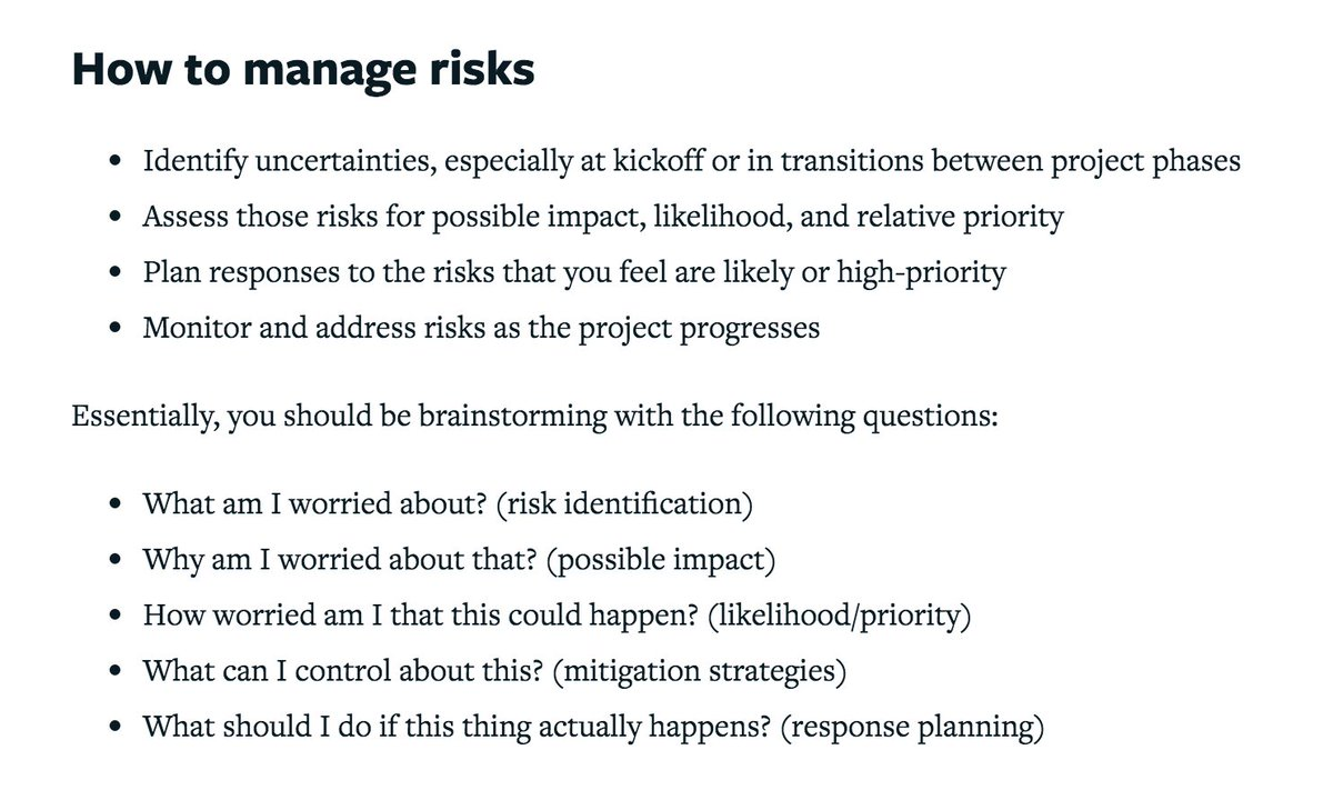 Lullabot On Twitter Risk Management Words Of Wisdom For