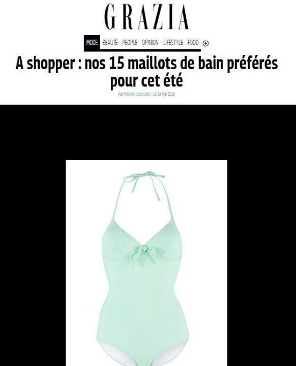 Chanson d'été : maillot de bain une pièce vert, 73€ au lieu de 85€  Disponible sur l'eshop… https://t.co/3Fw4UunjrS https://t.co/nQ4IXSqW40