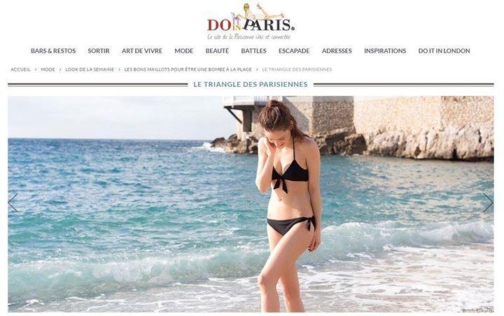 Chanson d'été, soutien-gorge triangle et culotte à nouer, 85€  Disponible sur l'eshop : … https://t.co/9dWGG6kLQi https://t.co/6BsZZ51nc9