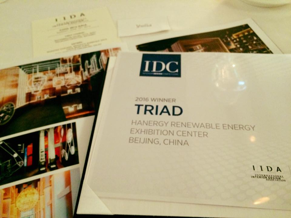 TRIAD Berlin On Twitter Wins 2016 Interior Design Competition Of International AssociationIIDA HQChicago