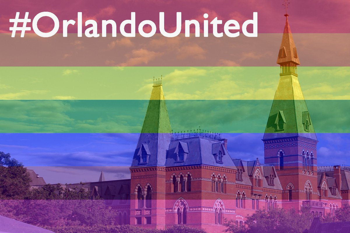 We stand together with you, always.  Love conquers hate. #OrlandoUnited https://t.co/F0H9DJgzft