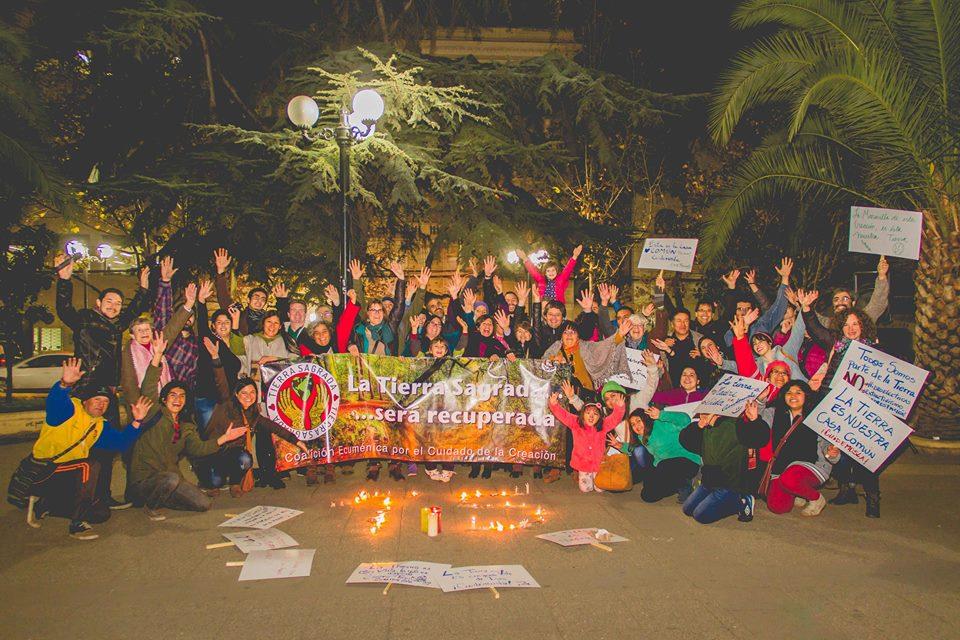 Celebración #TierraSagrada2016 organizada por @ceccchile y Foro Espiritual por la Paz.   https://t.co/ZSuFlMEeGX https://t.co/xzvD6TYHFs