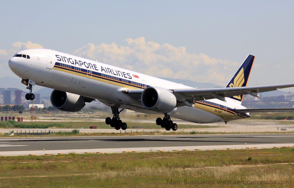 Singapore Airlines operará todos sus vuelos via Milan