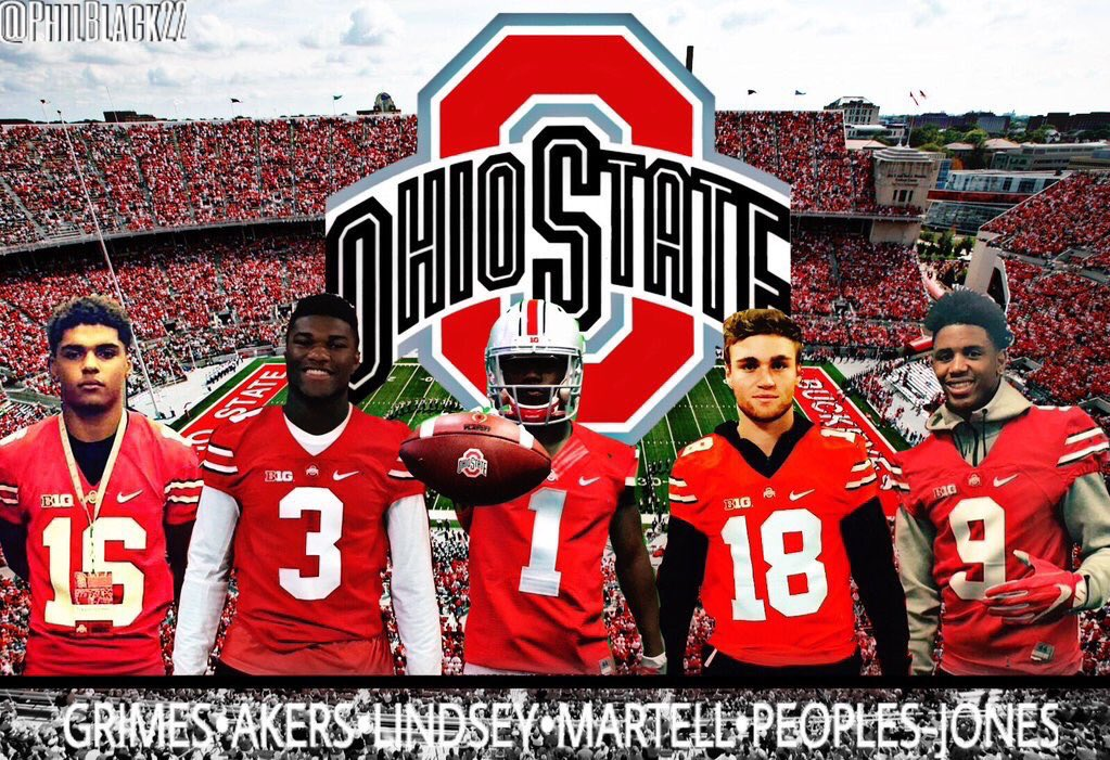 Ohio State Football Tate Martell QB Recruiter