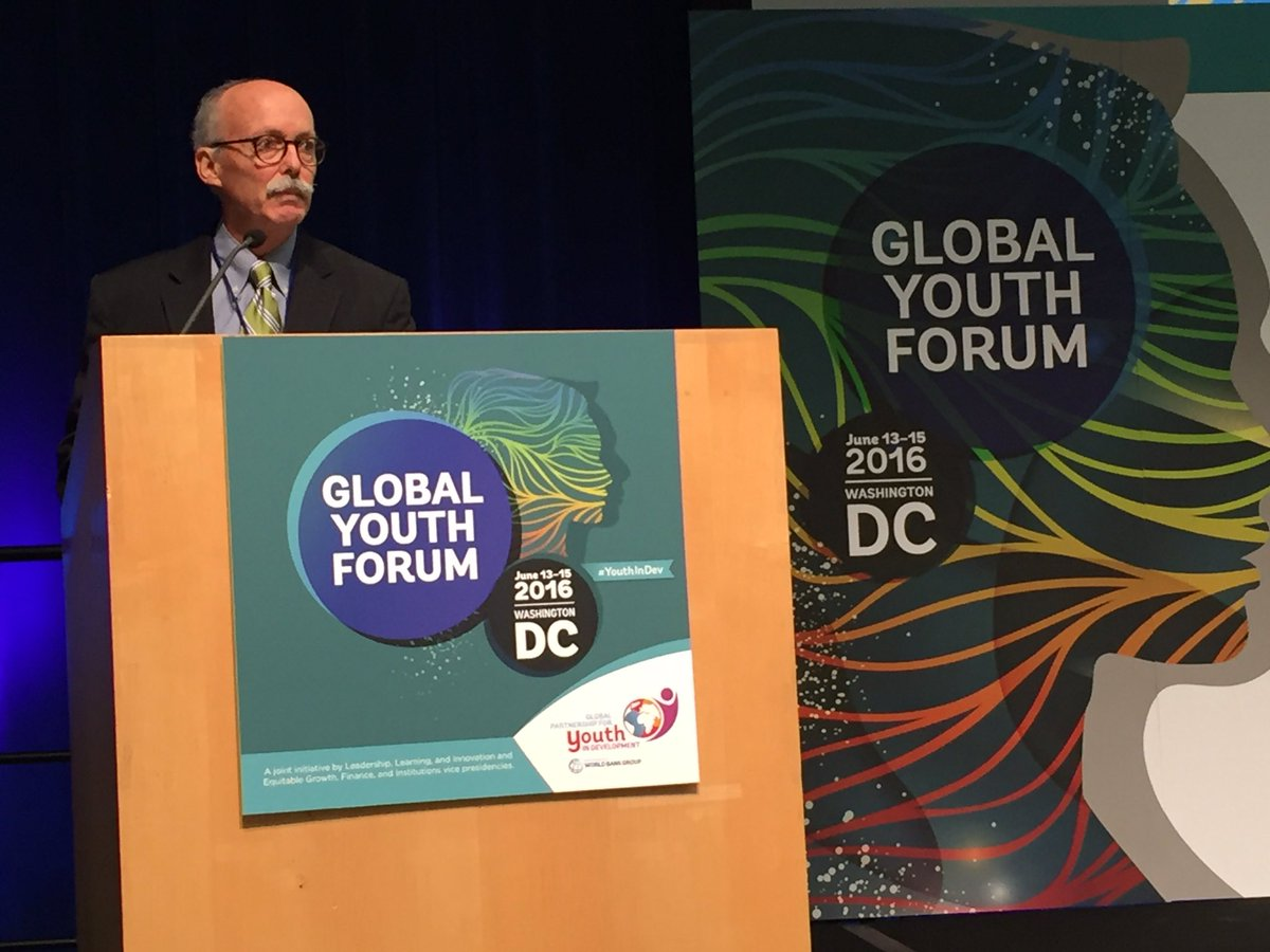 Bill Reese, International Youth Foundation, a leading partner in Global Partnership Youth in Development #youthindev https://t.co/HKCnyrJj7T