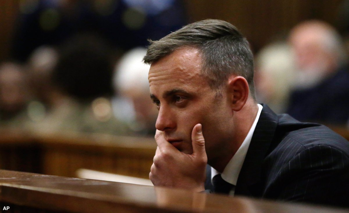 Oscar Pistorius' sentencing hearing begins in murder case of Reeva Steenkamp.