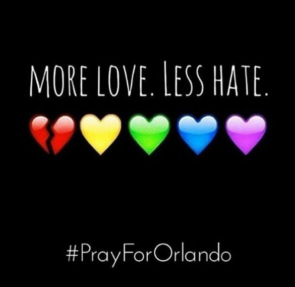 With heavy hearts, our thoughts are with all of the beautiful lives lost and their families. #OrlandoUnited https://t.co/r7nR50mDsw