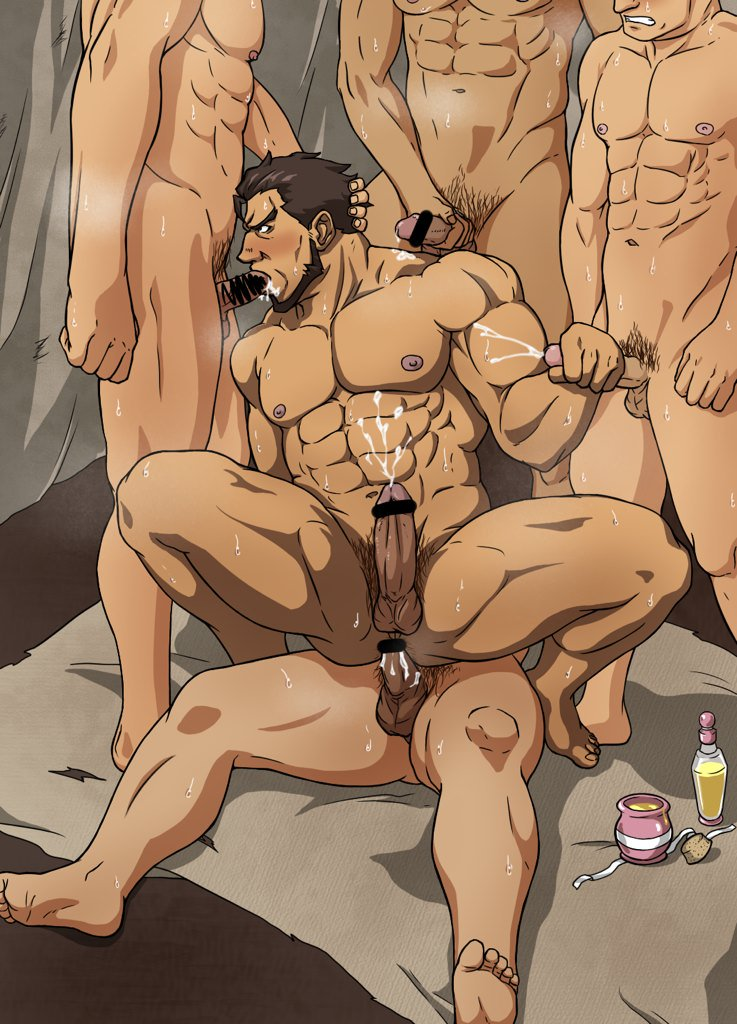 sex Aladdin gay cartoon