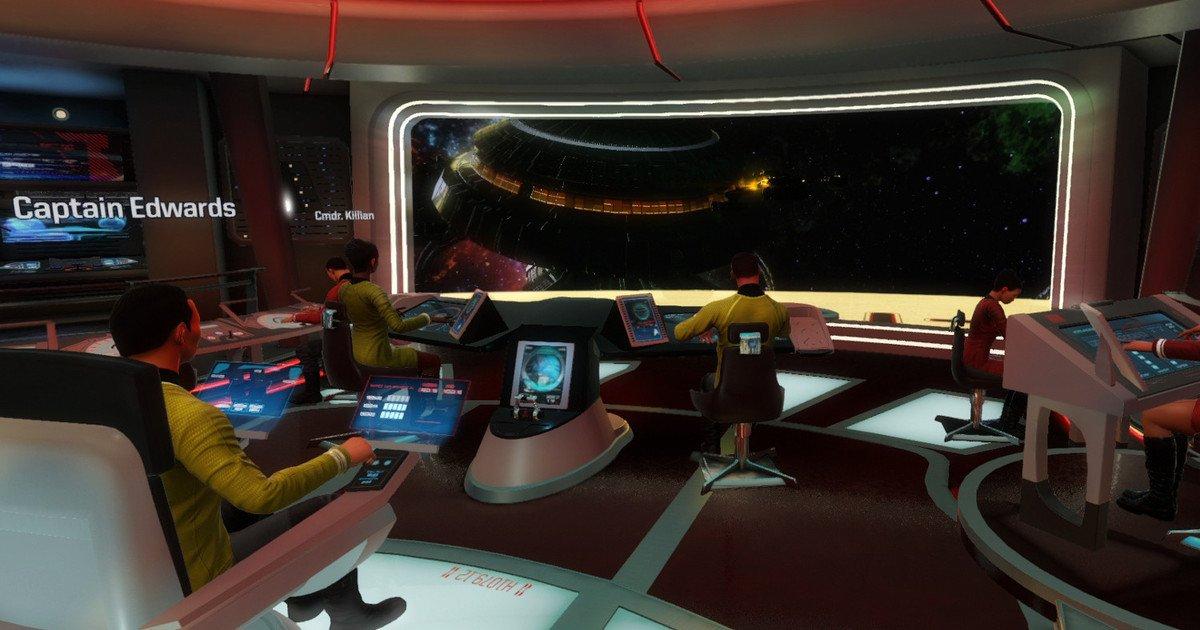 First 'Star Trek' VR game puts you on the bridge