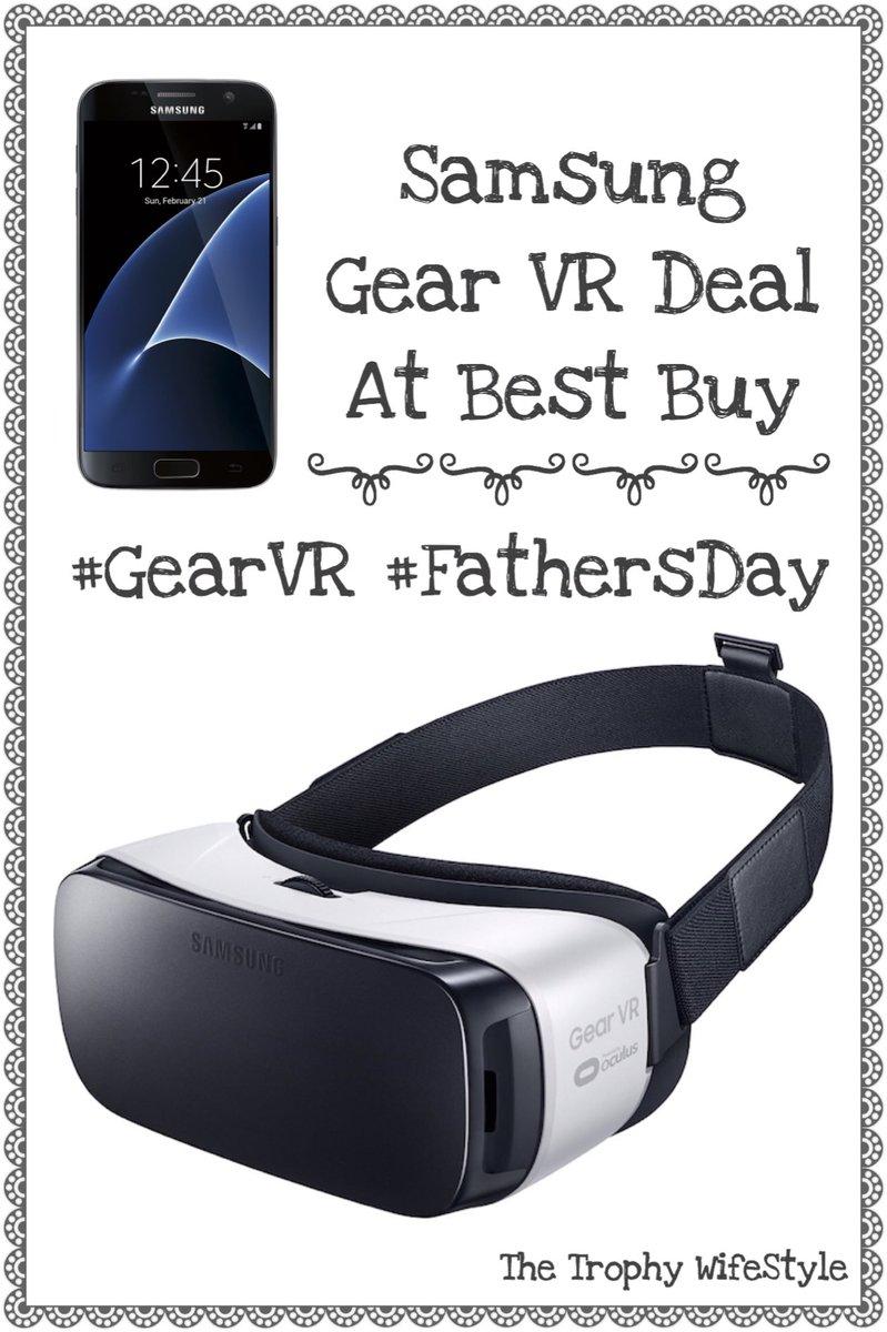 SAMSUNG GEAR VR DEAL AT BEST BUY #GEARVR #FATHERSDAY