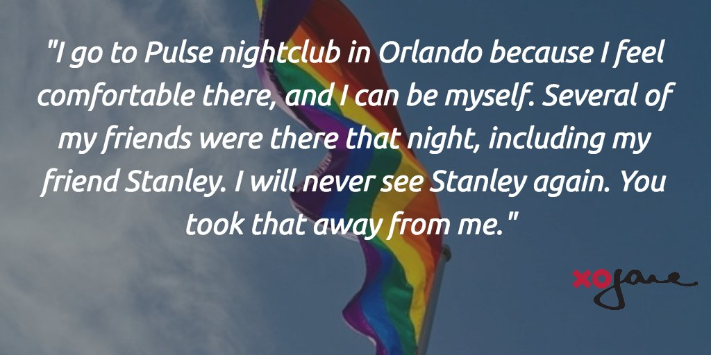 An Open Letter to Omar Mateen from a Survivor of the Orlando Shooting https://t.co/XkDlzyKqku #OrlandoUnited https://t.co/I96ryYn0NH