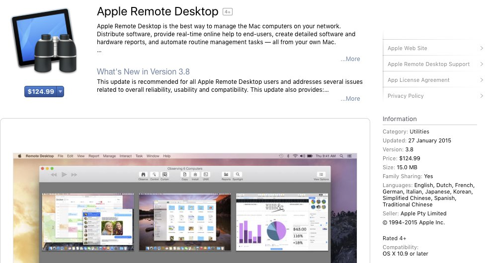 apple remote desktop hashtag on Twitter