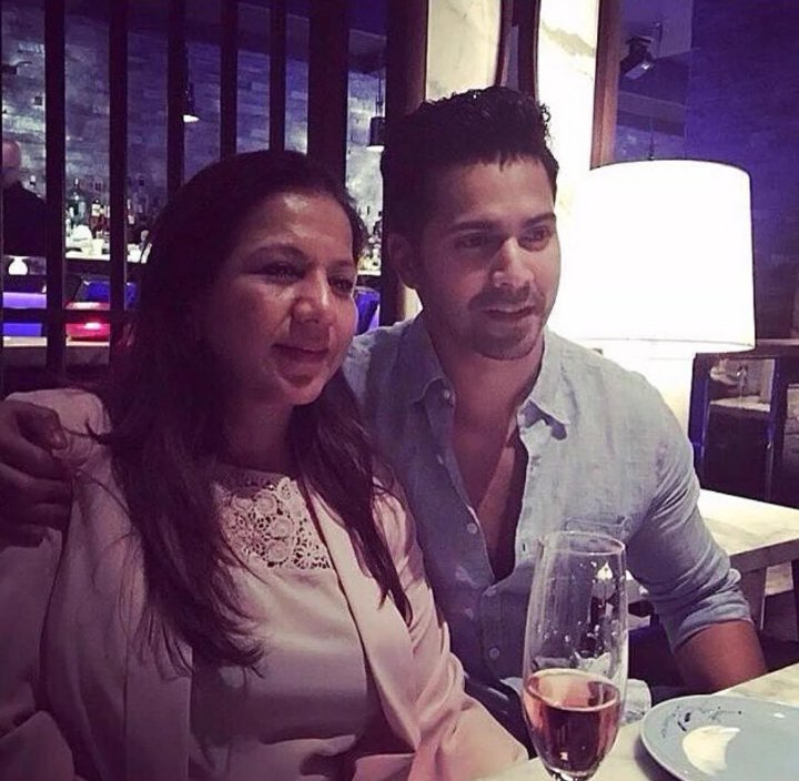 Image result for varun dhawan with his mom