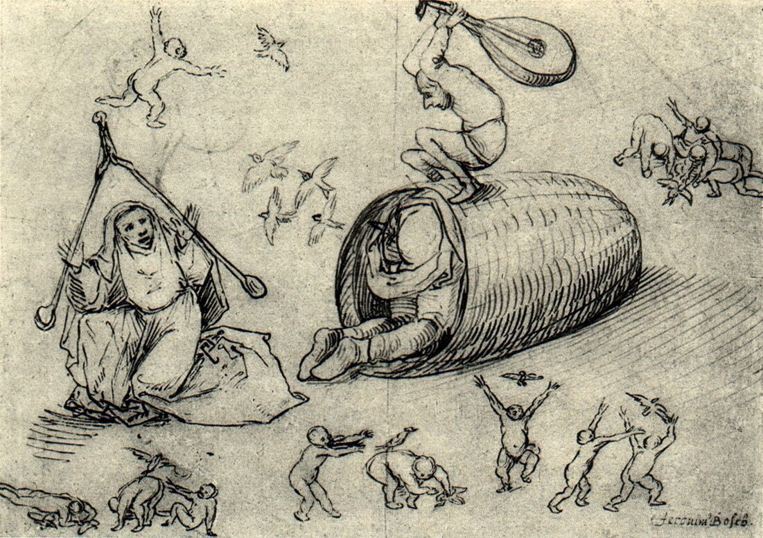 Tekening Jheronimus Bosch