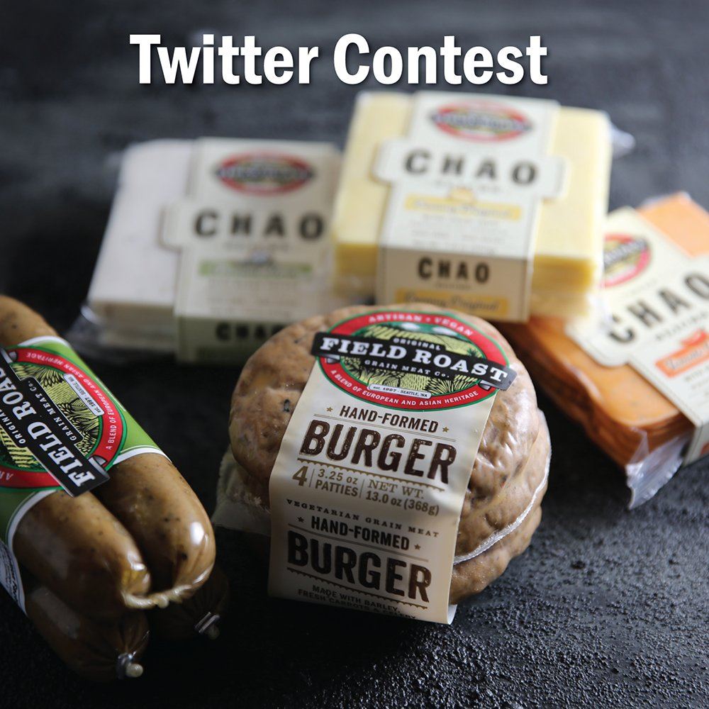 Follow @DinaCheney & retweet her #FieldRoast giveaway post. Enter to win her book The New Milks + products from us! https://t.co/B2lUlbwlx5