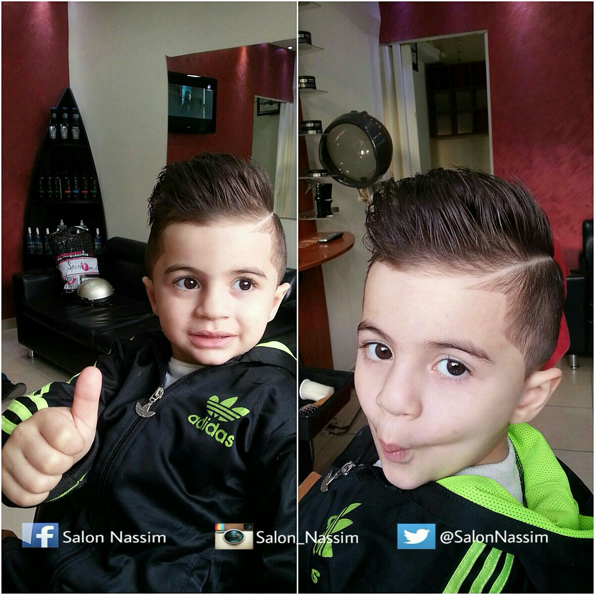 Salon Nassim On Twitter Kids Hairstyles Salon Nassim Beirut