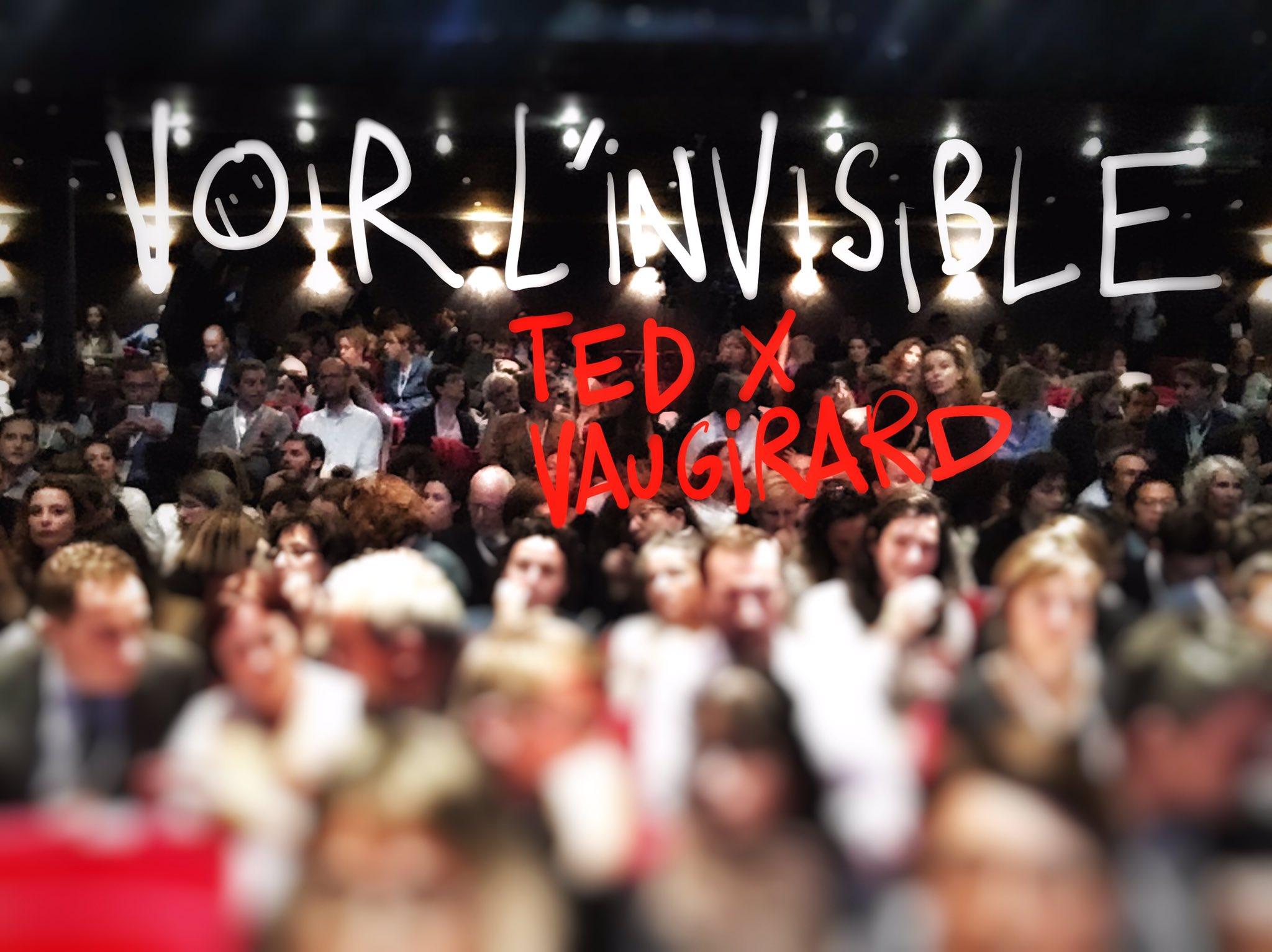 TEDx Vaugirard va bientôt se rendre visible... En live stream #TEDxVR #TEDxVR2016 https://t.co/6wLRZIqcRh