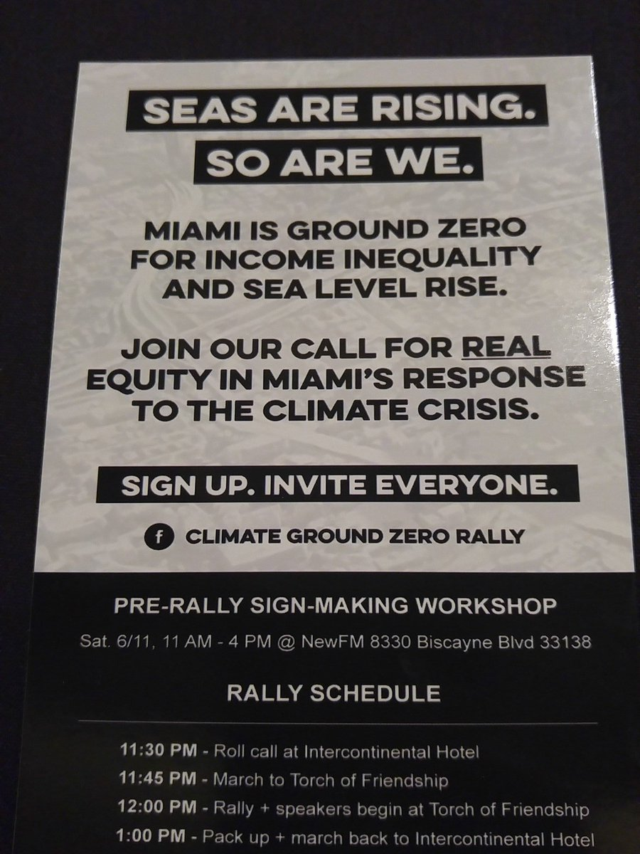 Climate Ground Zero Rally at #USCAN2016. Tomorrow. https://t.co/WMCVbaApAe