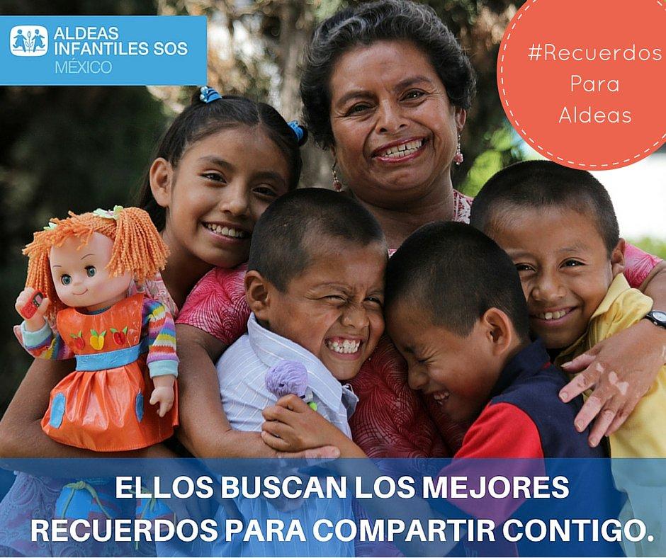 Compártenos el mejor recuerdo de tu infancia, para revivirlo con los niños de @AldeaSOSMX  #RecuerdoParaAldeas https://t.co/3jskMmppWy