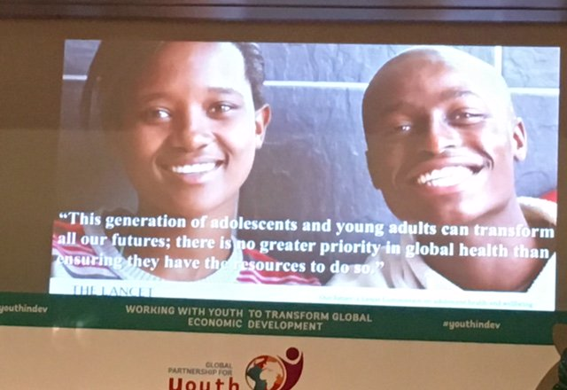 Bill Reese, @IYFtweets: There will be no success or even substantial progress toward #SDGs without youth #youthindev https://t.co/0lMNLWVmrm