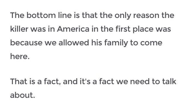 This could be said of literally anyone who is not Native American. https://t.co/j0GpyAkUlb
