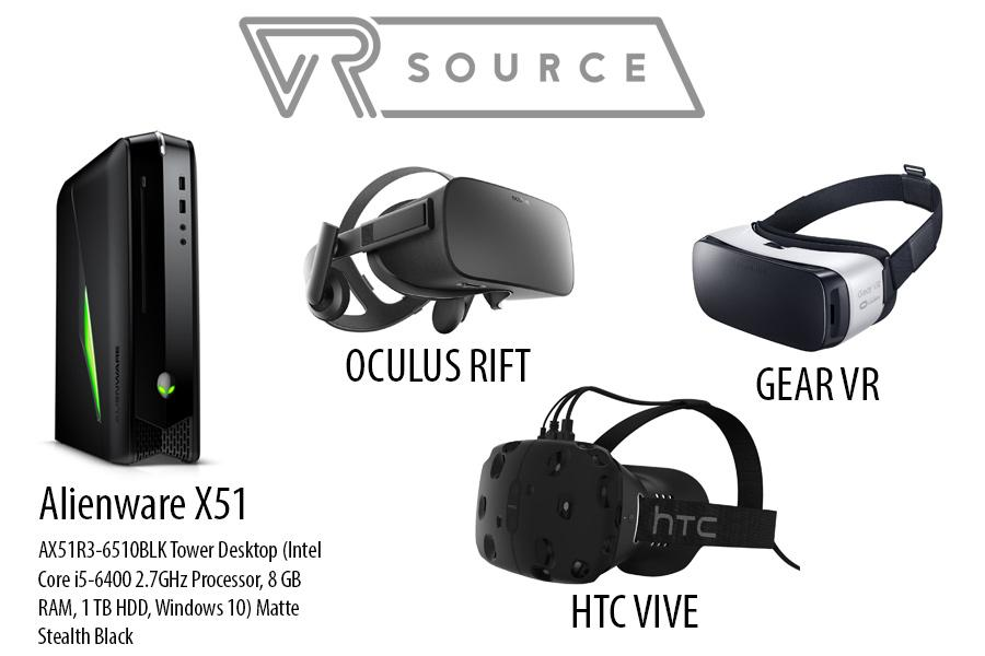 VR Source launch giveaway [HTC Vive, Oculus Rift, and more]