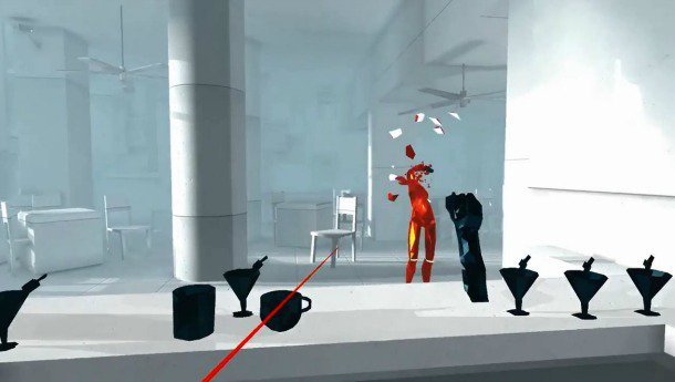 Superhot VR Launches First For Oculus Touch