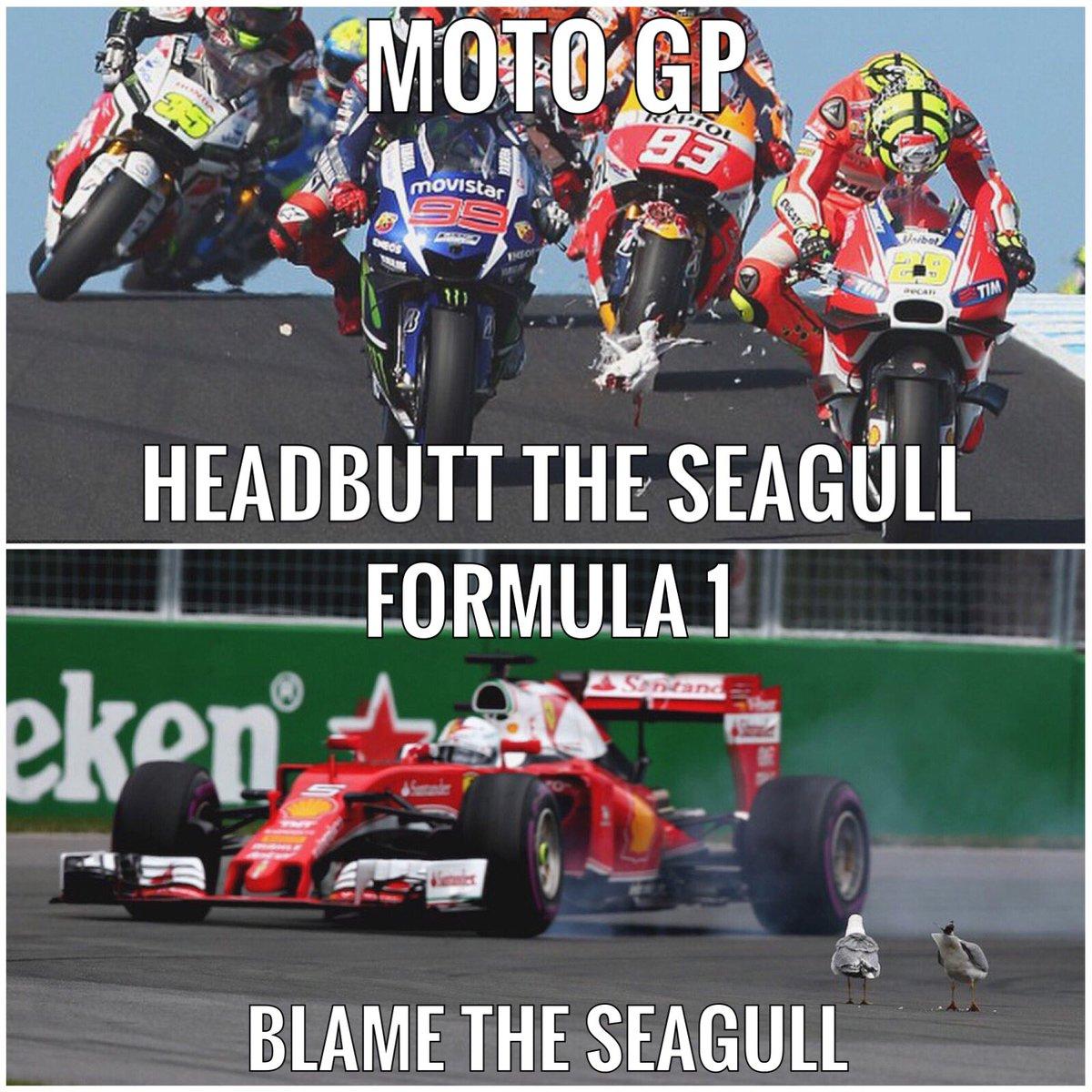 moto gp vs f1