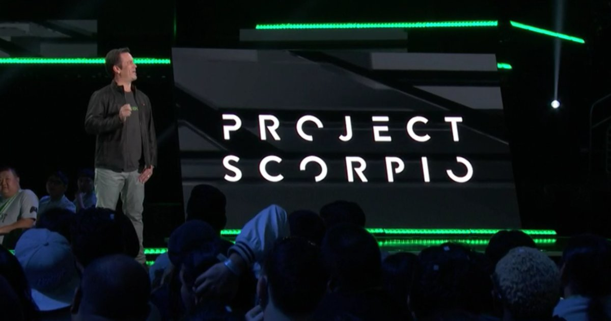 Project Scorpio Is a 4K, VR-Ready, Superpowered Xbox One