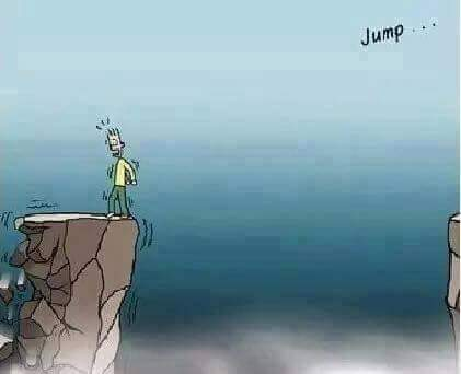 RT @EngineChux: 3. ... It takes a giant leap of faith to get started... https://t.co/l7J142LoKU