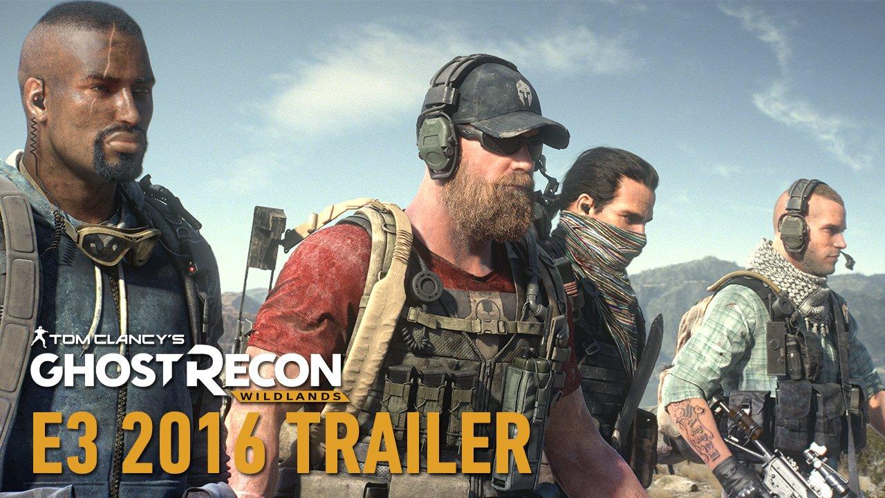 Ghost Recon Wildland E3 Trailers
