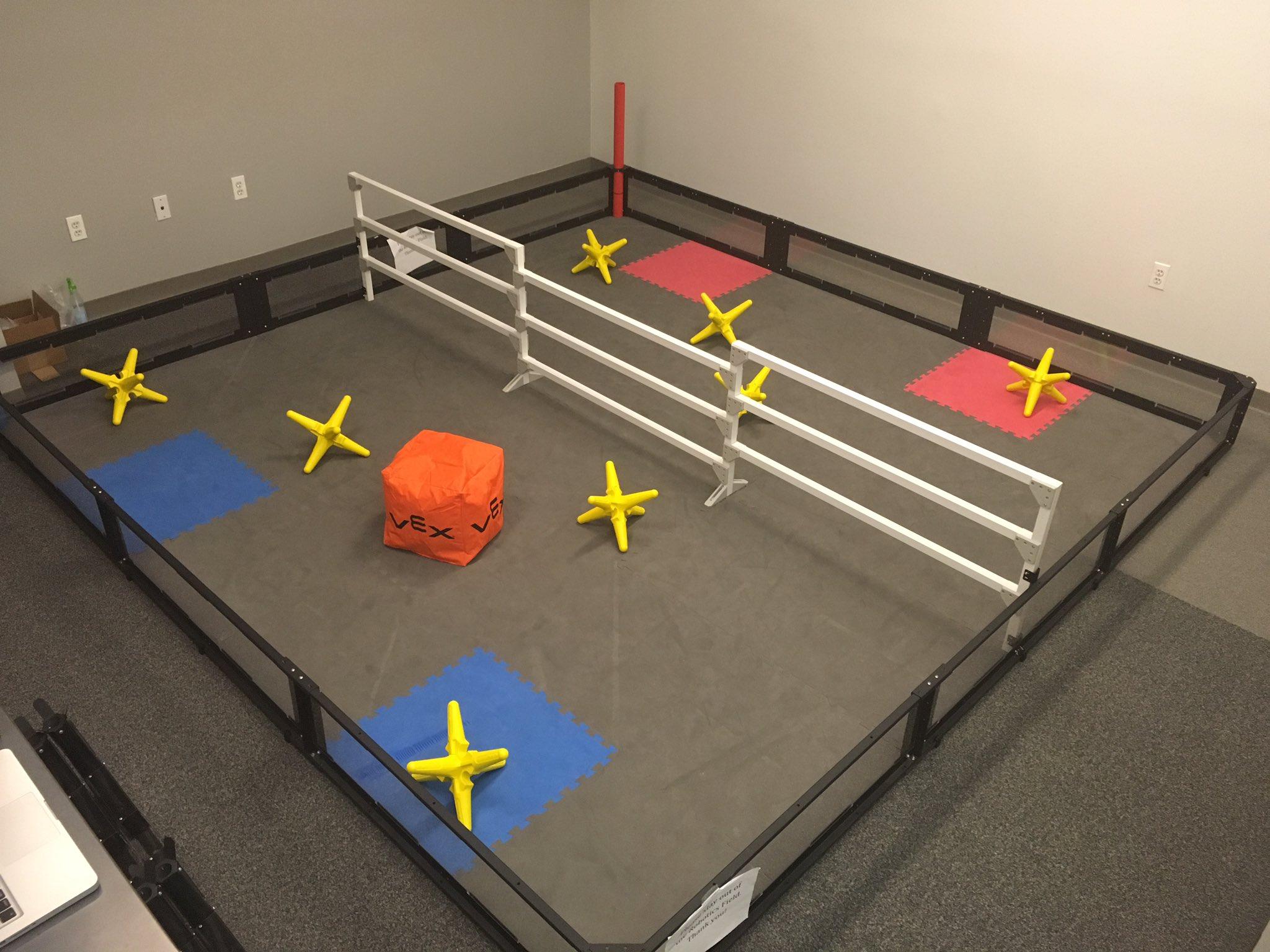 Luhi Robotics On Twitter Starstruck Field Setup Complete Vex