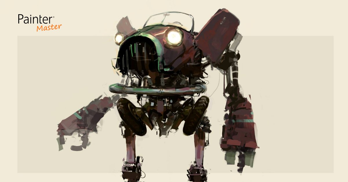 Learn about mech design w/ Master Robert Stacy | Jun 30 @ 1pm ET https://t.co/tbEqnOWbRy #webinar #ConceptArt #mech https://t.co/psY0aWvjON