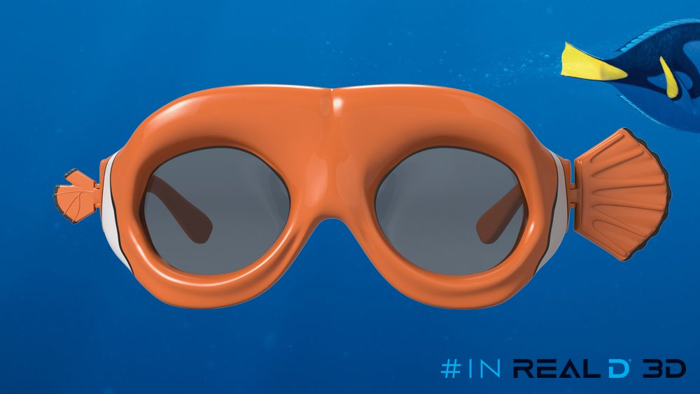 c019b1c2517 A lucky Fin could be just what Dory needs.  FindingDory ltd. edition Nemo  glasses