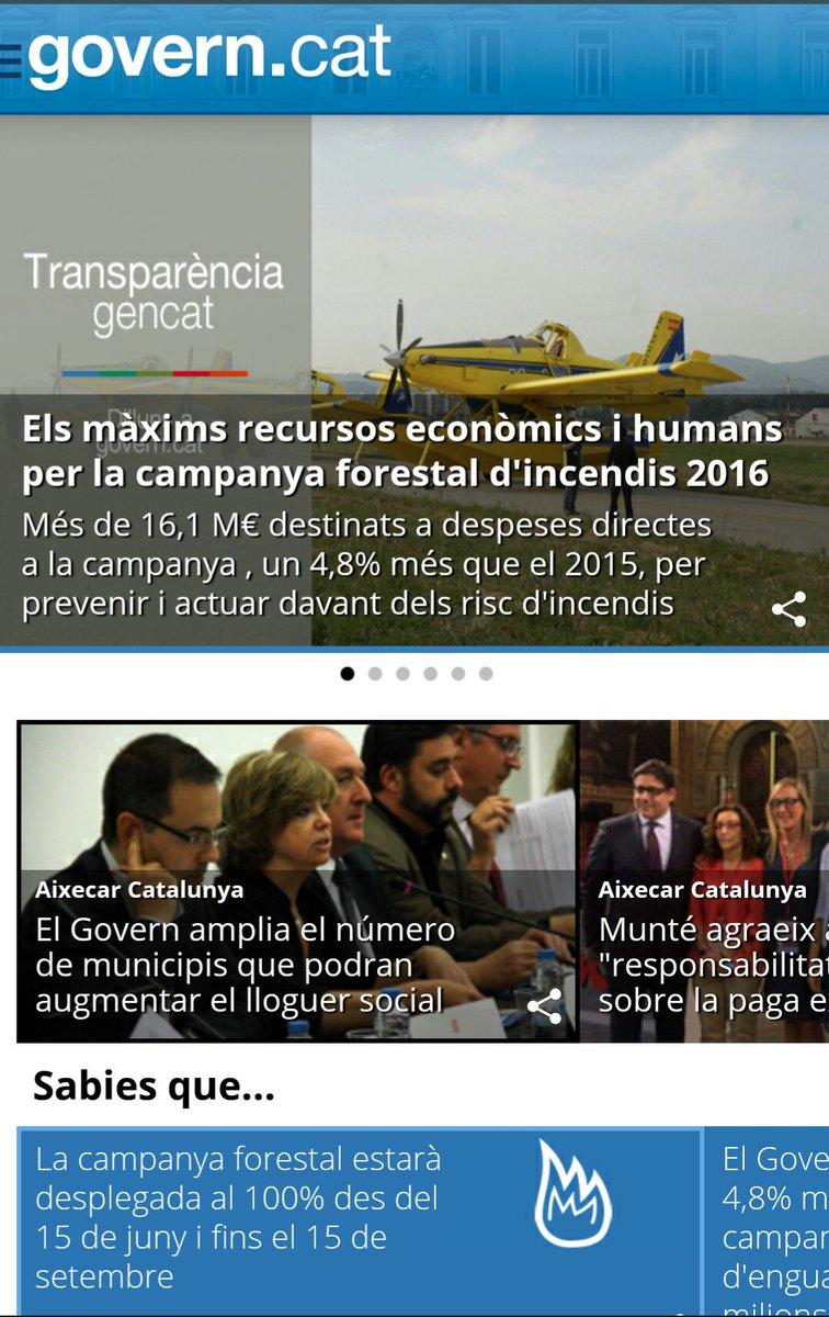 Transparència Gencat