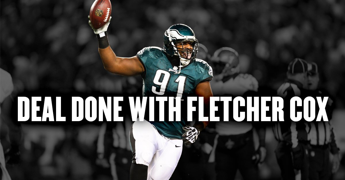 Fletcher Cox and Eagles agree biggest non-quarterback deal in NFL history