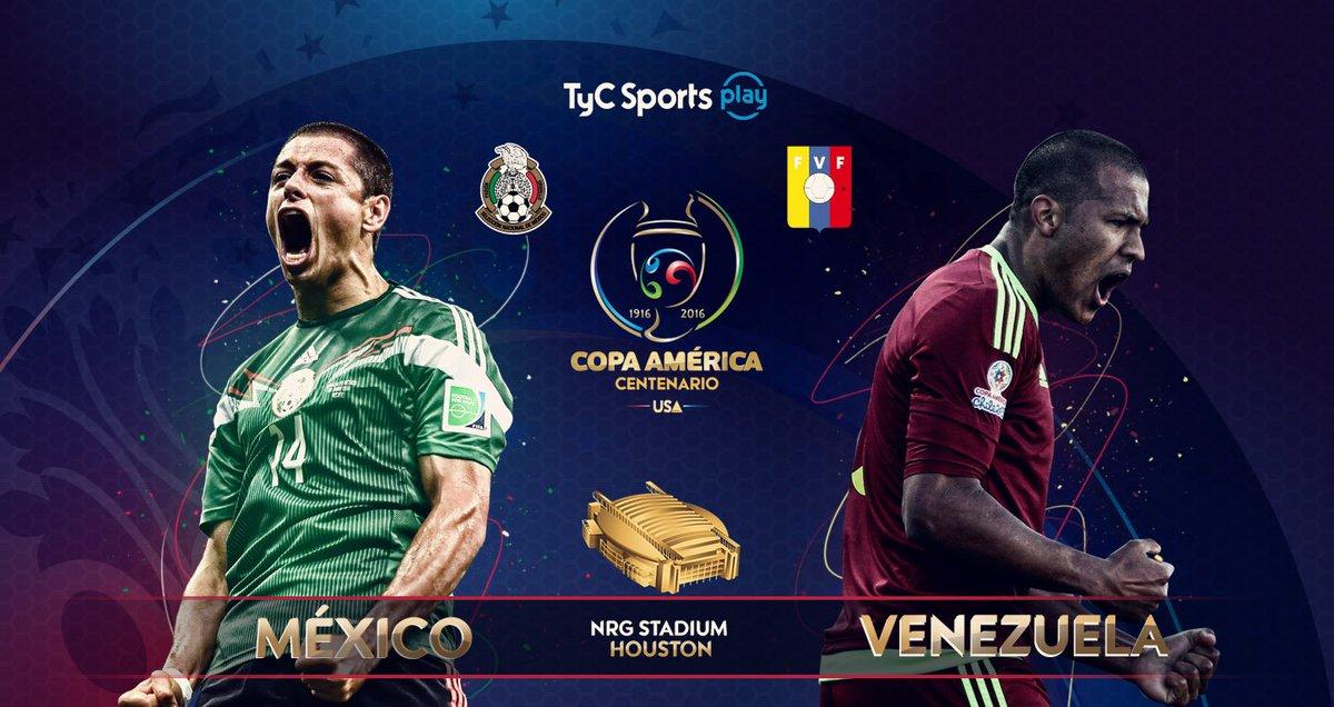 Terminó: México 1 - Venezuela 1 #CopaAmerica