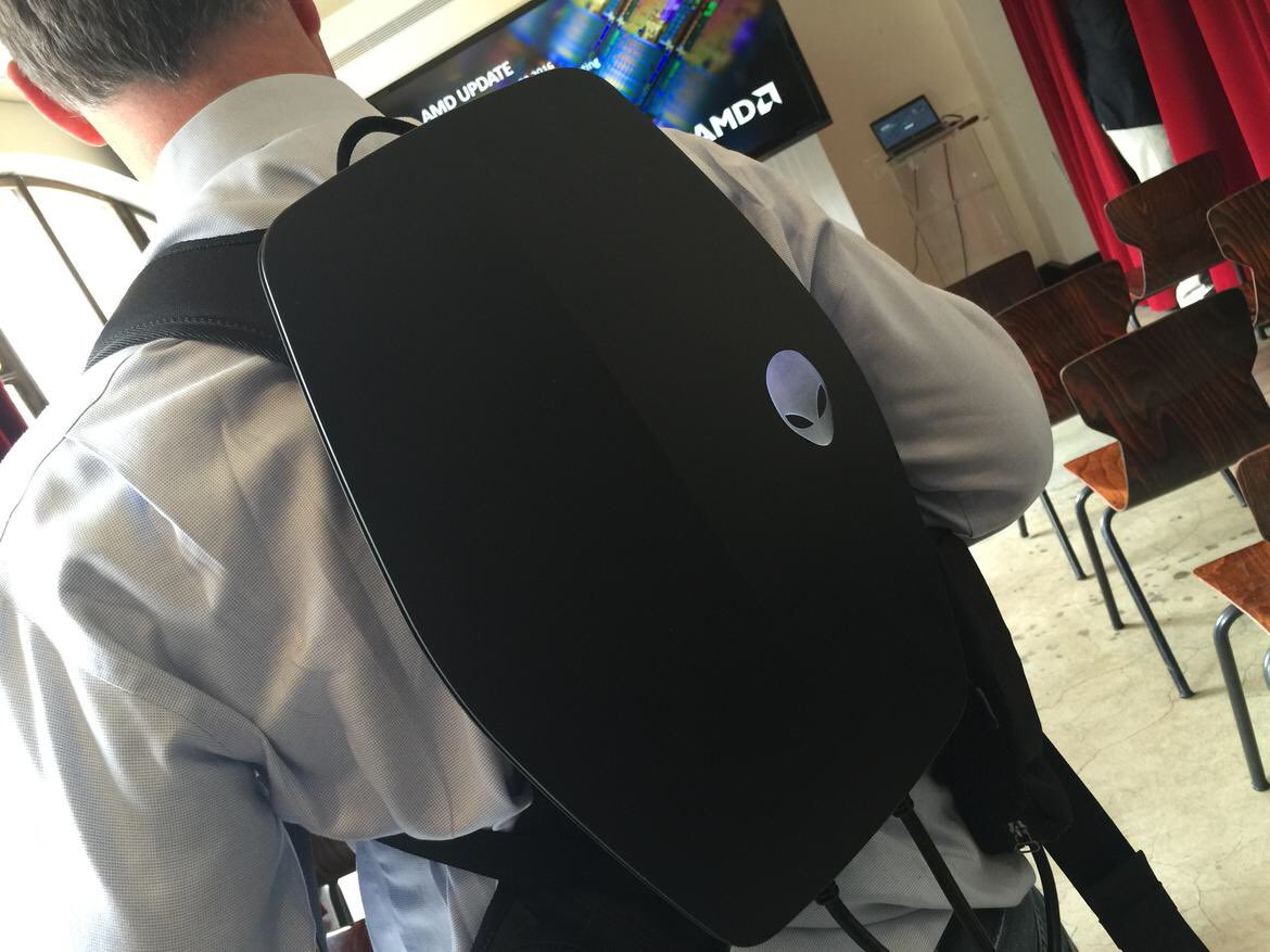 Alienware teases a VR-ready PC built into a backpack