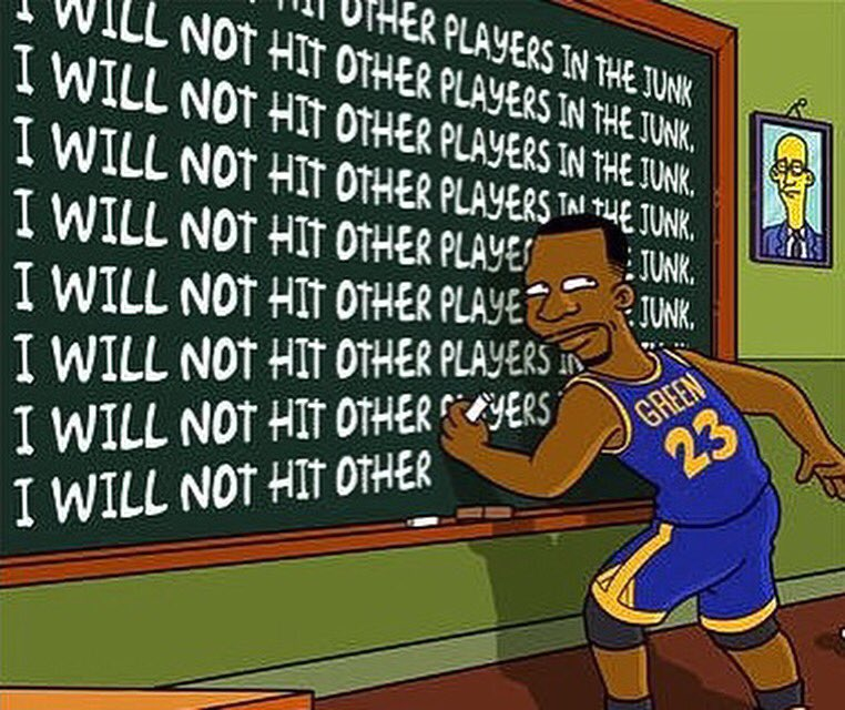 A little humor to end this Monday! #goldenstatewarriors https://t.co/XsKddsascC