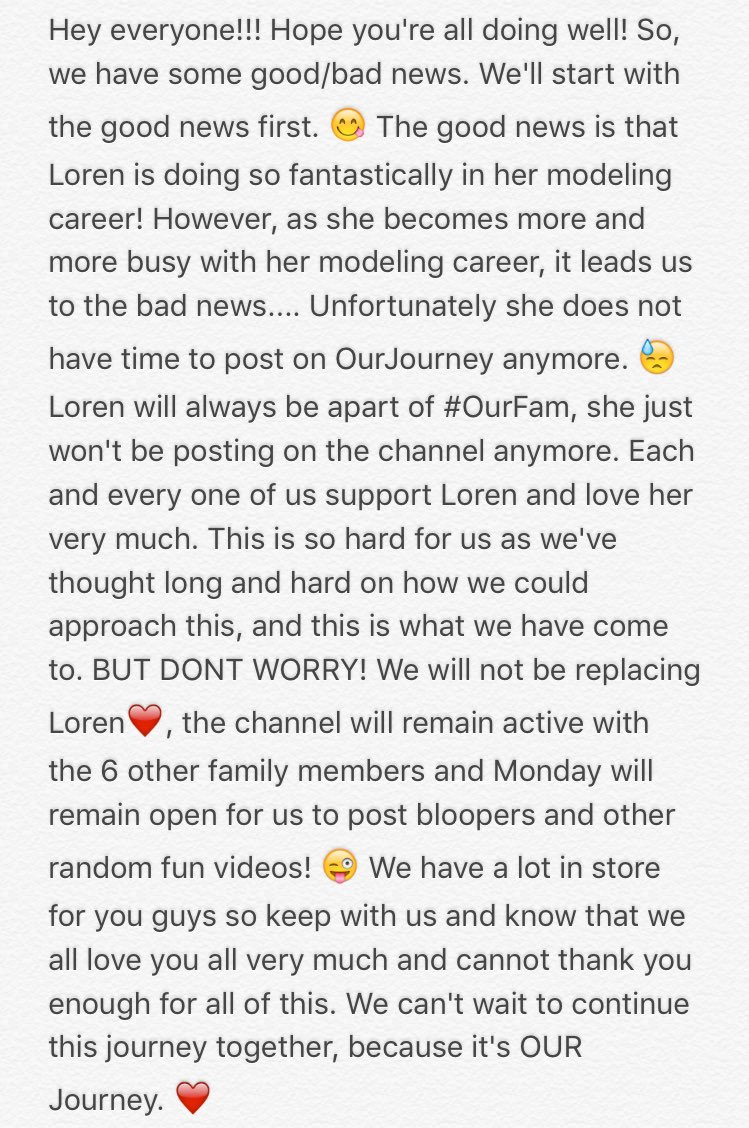 """Love You Thank You Quotes Ourjourney On Twitter """"hope You Guys Understand And Know We Are"""