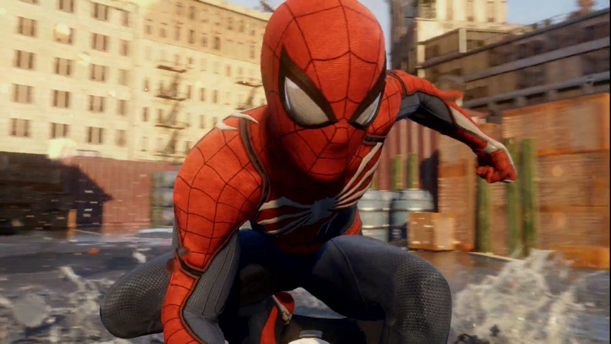 Spider-man PS4. @insomniacgames. Holy. CRAP. #E32016 https://t.co/GFunn9ToBC