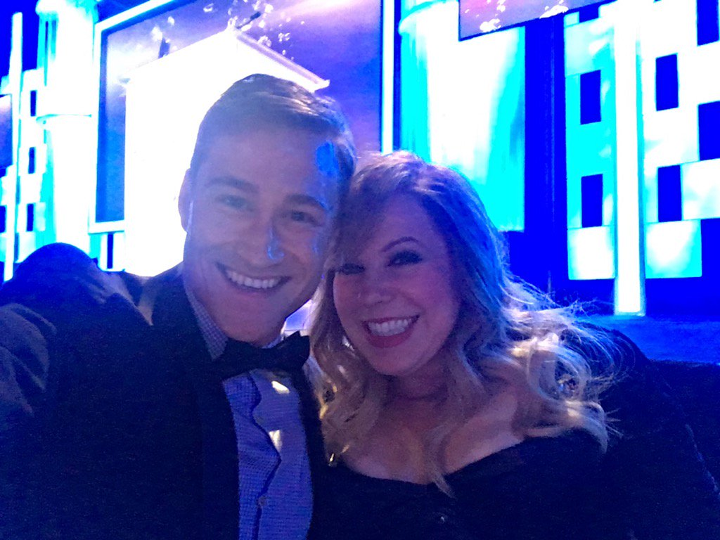 Always an honor to be @Vangsness arm candy at #ThirstGala! https://t.co/qQXdBgpg7V