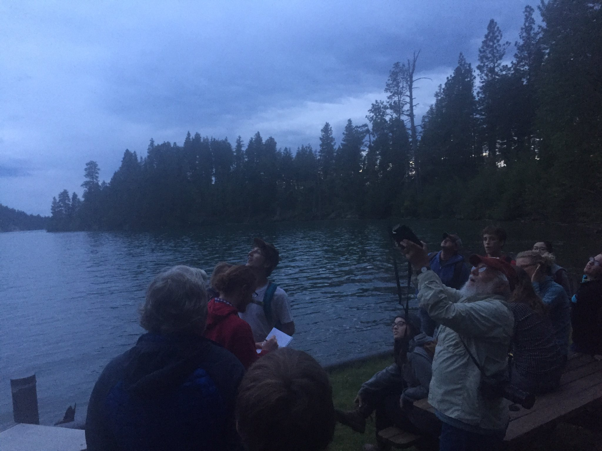 @FLBSUM summer students listening to bats while listening to legendary Kerry Foresman #flbs16 https://t.co/VtF2trEzhV